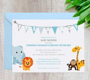 Babyshower-animals