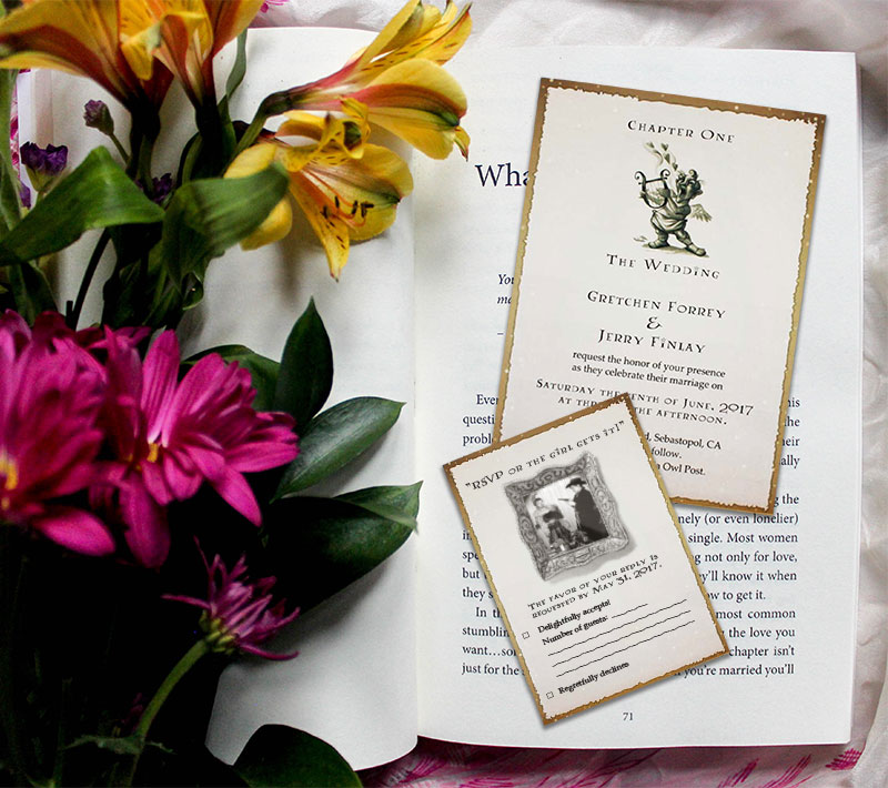 A Magical Wedding Invitation