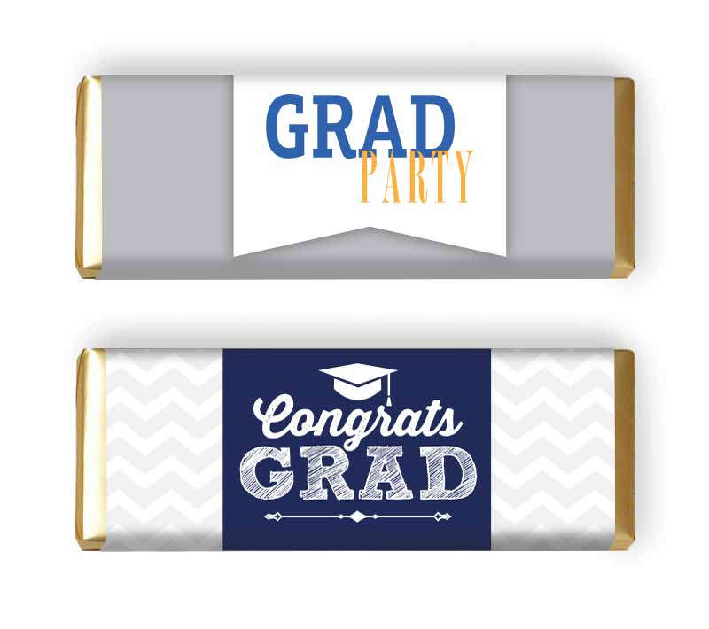 Graduation Party candy Bar Wrapper