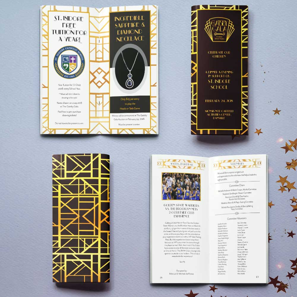 Gatsby Gala Auction Booklet