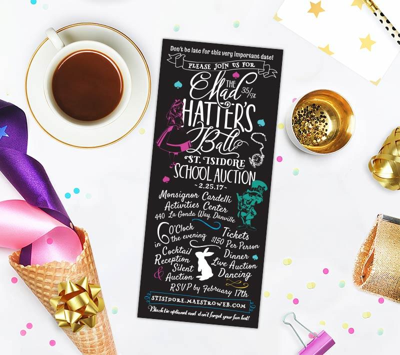 Mad Hatter's Invitation