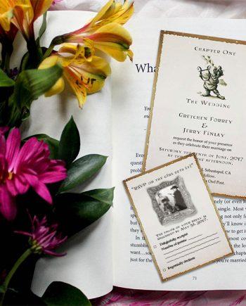 A Magical Wedding Invitation