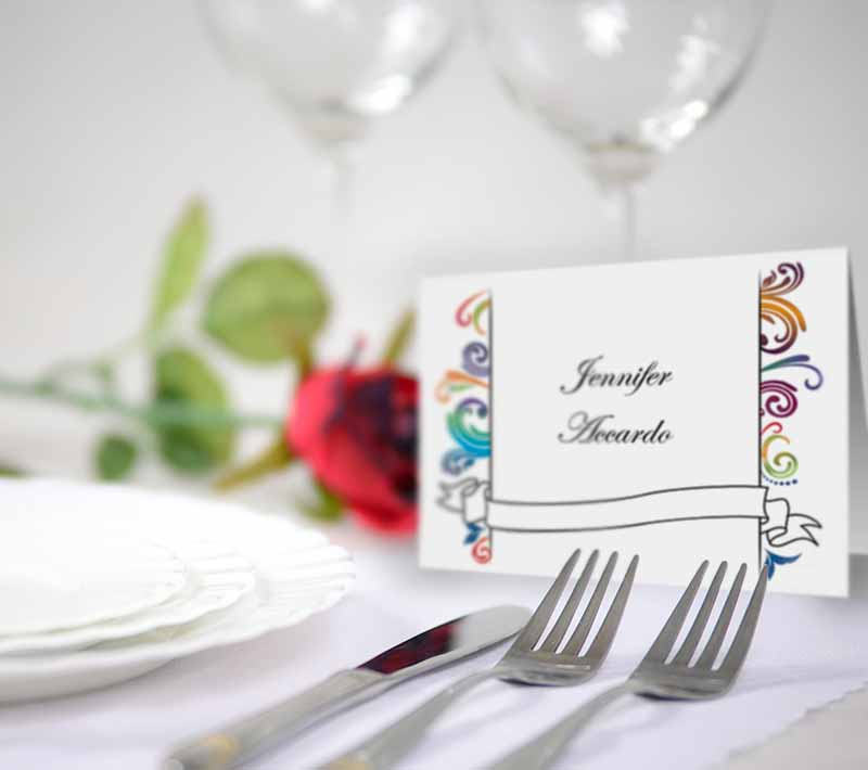 Event or Party Place Card