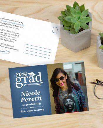 Grad Party Postcard