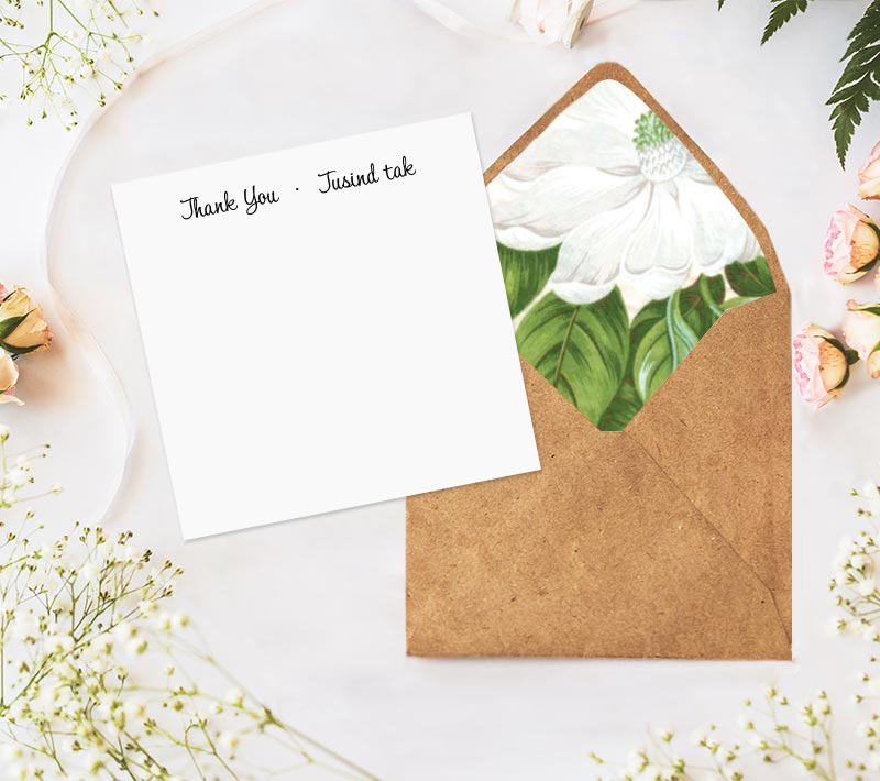 Scandinavian Dream Thank You Notes
