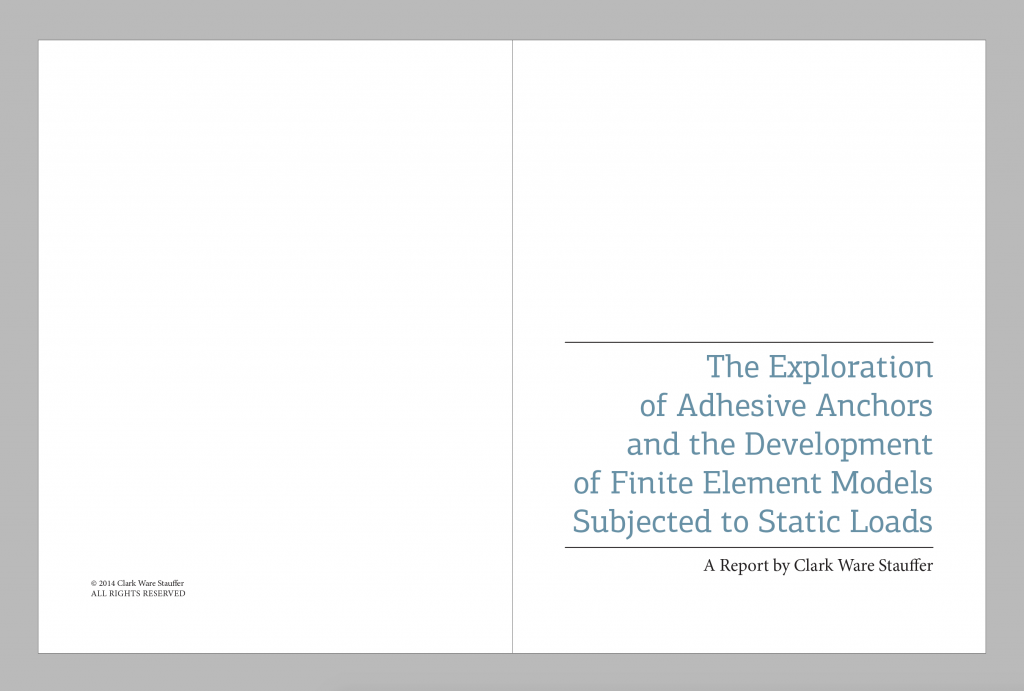 Planning report | Master Thesis CSE